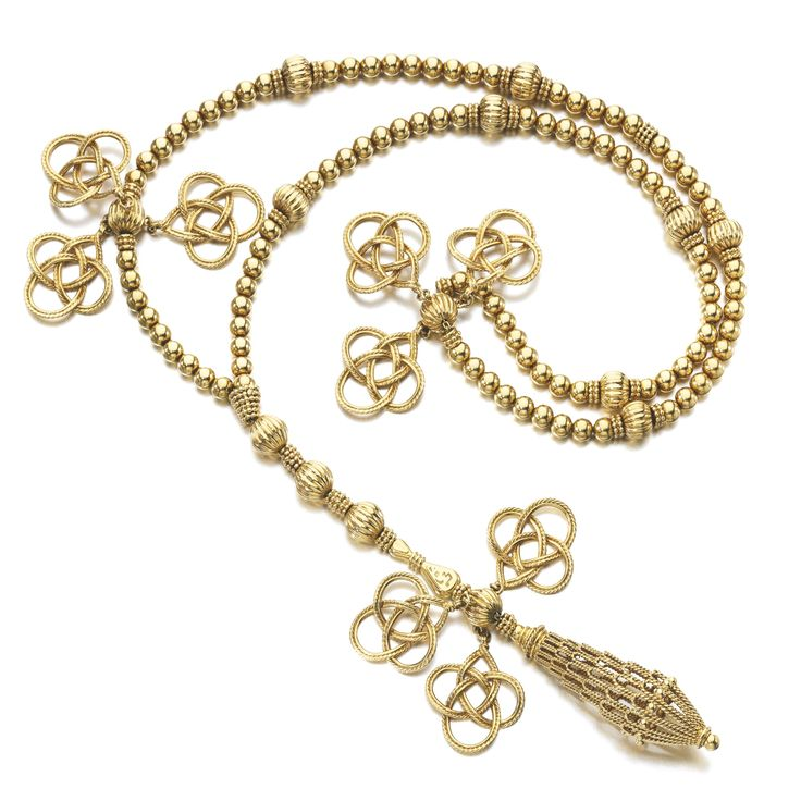 Gold muslim prayer beads