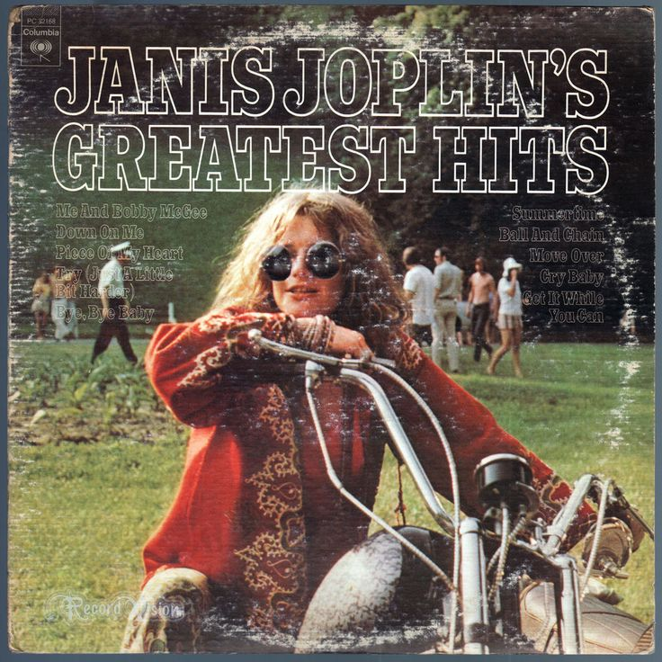 """#Janis #Joplin's #Greatest #Hits is a collection of hit songs by #JanisJoplin, who died in 1970. The album features the studio version of #MeAndBobbyMcgee which is generally absent from most #Joplin compilations. It also features #Live versions of #DownOnMe and """"Ball and Chain"""". #GreatestHits #BestOf #Vinyl #LP"""