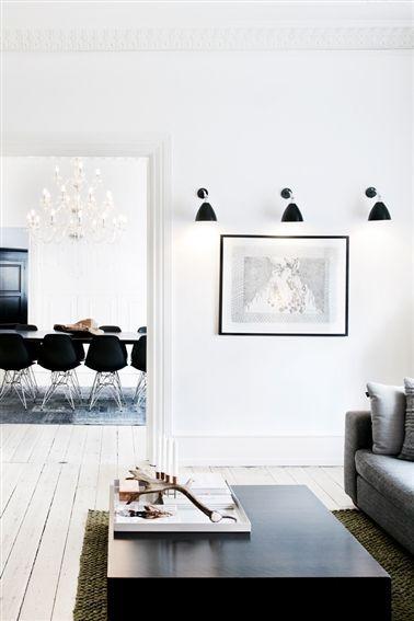 Indretning minimalistisk ro -