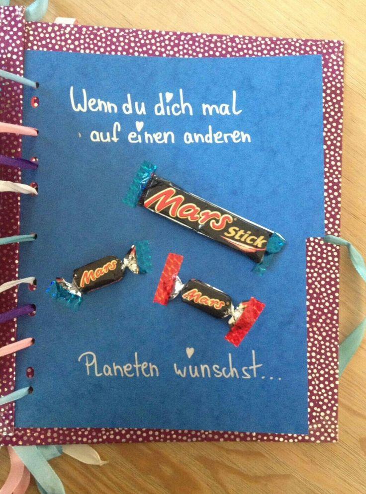 DIY - Wenn-Buch ... wenn du dich mal auf einen anderen Planeten wünscht