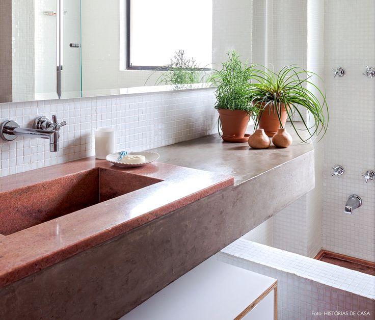 +1000 ideias sobre Banheiro Cor De Rosa no Pinterest  Banheiros Vintage, Ban -> Cuba Para Banheiro Cor De Rosa