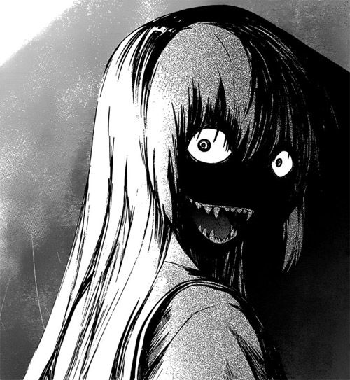 Horror Manga | Crimezone (oh god, this actually scared me a little! XD)