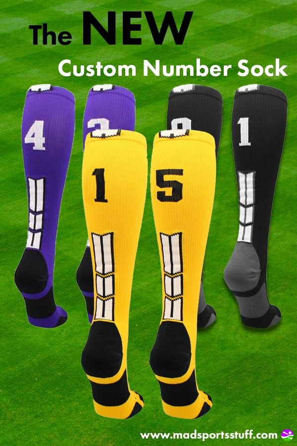 Player Id Jersey Number Socks Over the Calf Length Black and White
