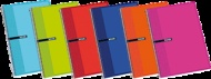 CUADERNOS ENRI TAPA DURA. Cuaderno de 80 hojas de colores surtidos con tapa dura y espiral simple. Excelente relación calidad-precio.Tamaño Folio( 215 x 310 mm ). Liso ( Blanco ). #Cuaderno #Libreta #Enri