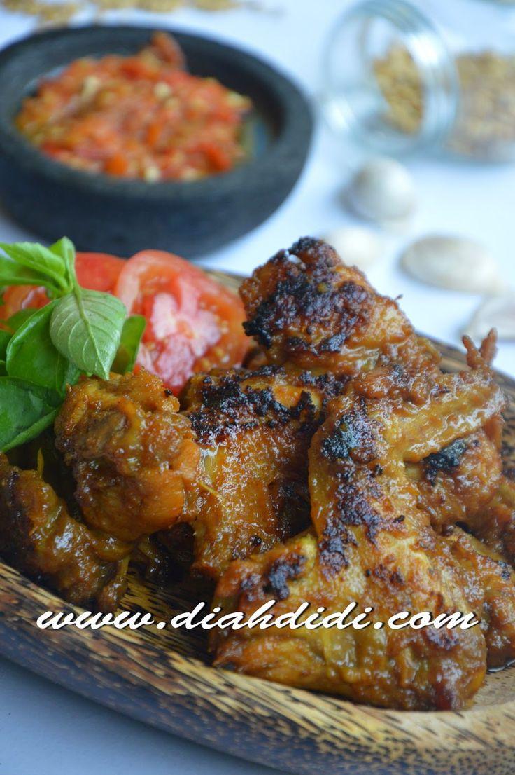 Resep  Ayam  Goreng  Madu  Ala  Nasi  Kalong
