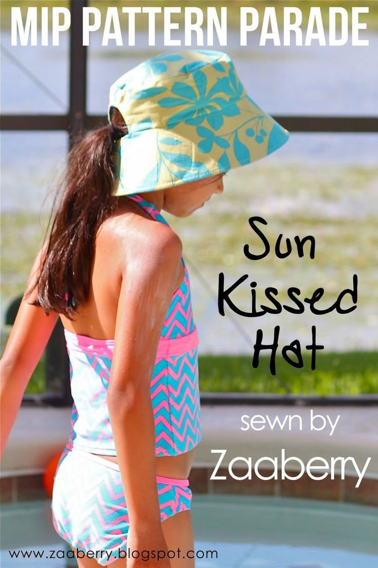 Sun Kissed Hat - Make It Desfile Patrón Pefect - Zaaberry