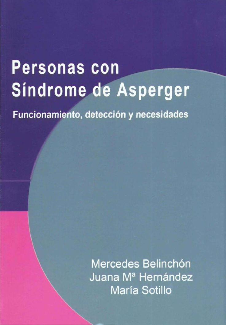 Personas con Síndrome de Asperger. Mercedes Blinchón,  Juana M. Hernández y María Sotillo.