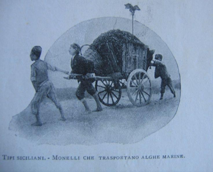 Bambini siciliani al lavoro