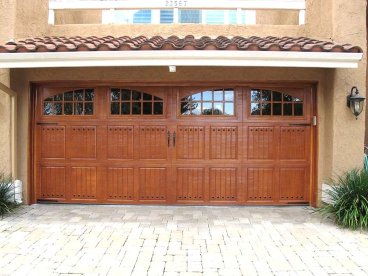 30 best images about garage doors faux wood finish on for Faux wood finish garage door