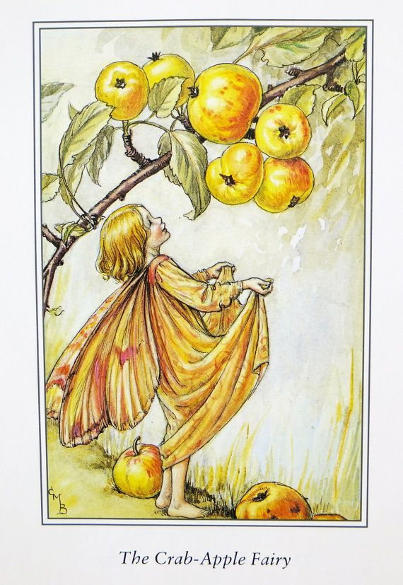 Three Cicely Mary Barker Prints Autumn by PeonyandThistlePaper