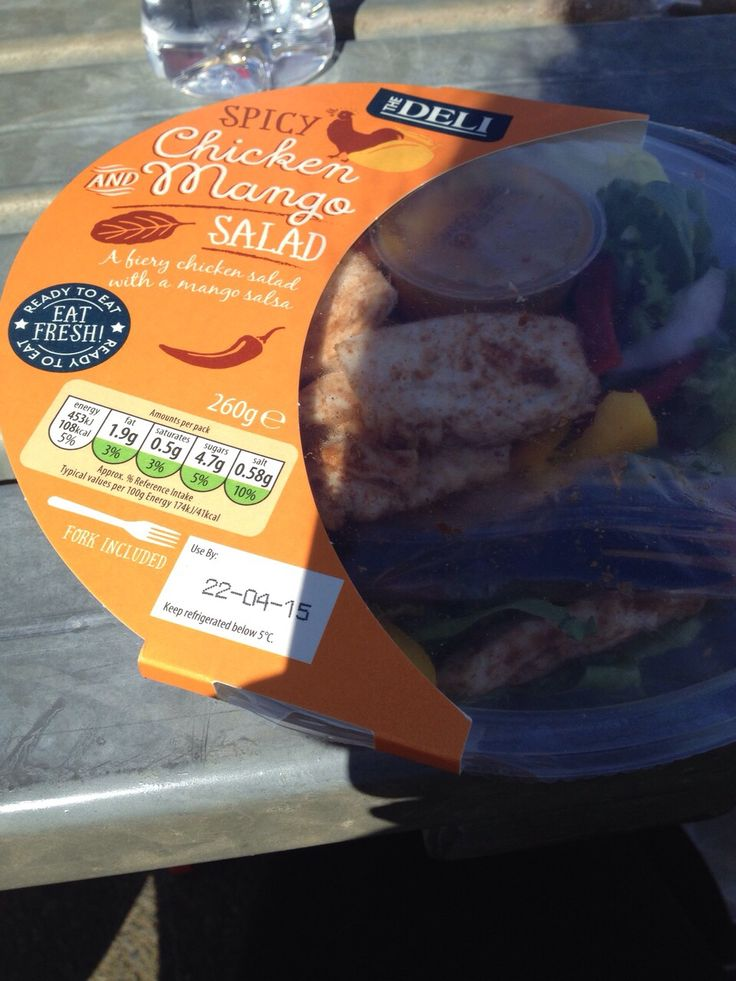 Chicken & mango salad from Aldi. £1.49 Great if you Are on the go. Only 1 syn