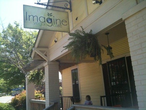 We went to Imagine Vegan Cafe last week both to support Dining Out for Life and to check out the restaurant's new spot further east...