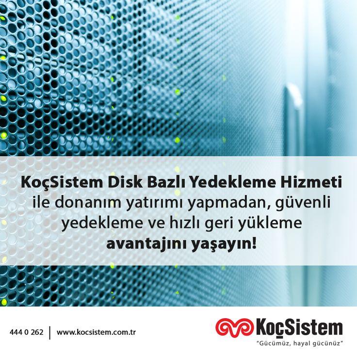 Operasyonel işlemleri KoçSistem uzmanlığına devrederek ana işlerinize odaklanın.