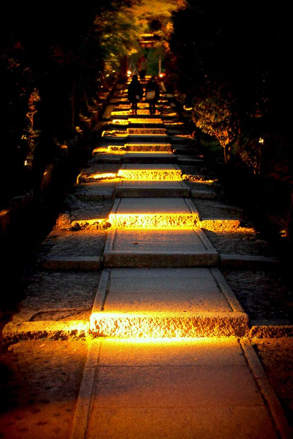 "Night path"" by Norie #kyoto #japan"