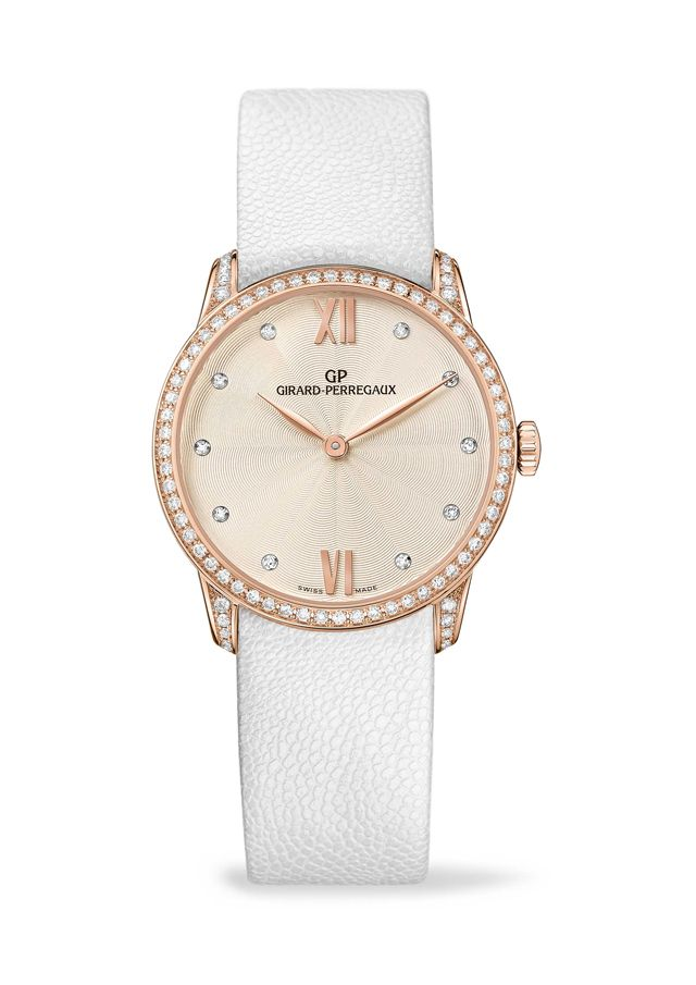 Girard-Perregaux 1966 Lady This watch is the top for #Italian #Food Joy www.italianfoodjo... for UK and other countries www.italianfoodjo... for DE and AT only