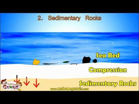 Sedimentary Rocks Video for kids by makemegenius.com - YouTube