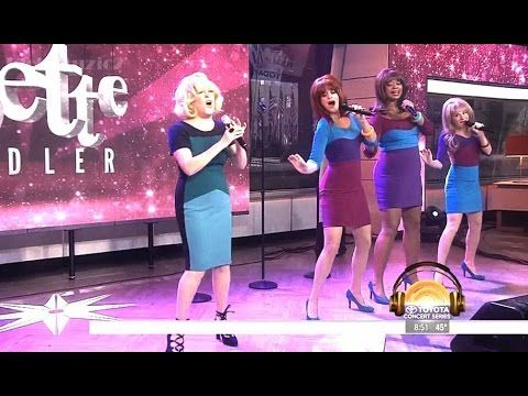 [HD] Bette Midler - Be My Baby - Today Show (Live) - YouTube