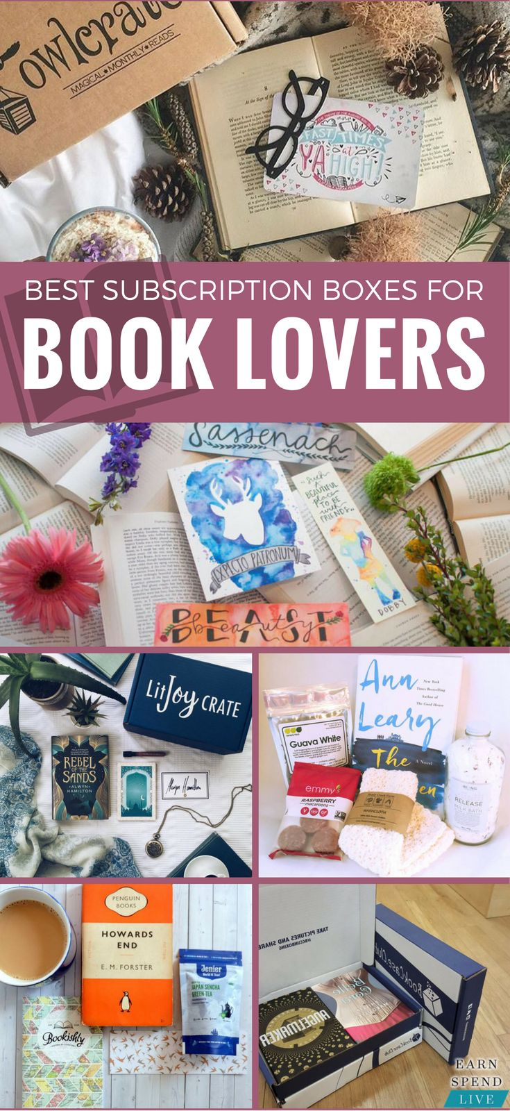 The Best Subscription Boxes For Book Lovers