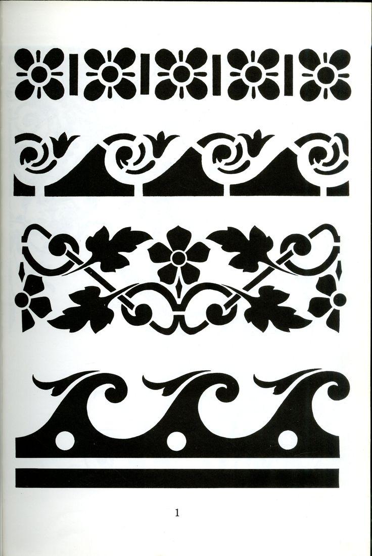 29 best pattern images on pinterest stencils stencil graffiti stencil victorian stencils for design and decoration by edmund v gillon jr amipublicfo Gallery