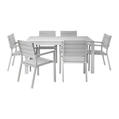 Weather proof outdoor furniture from ikea