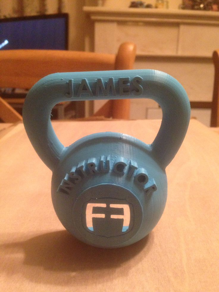 Kettlebell trophy idea for my gym