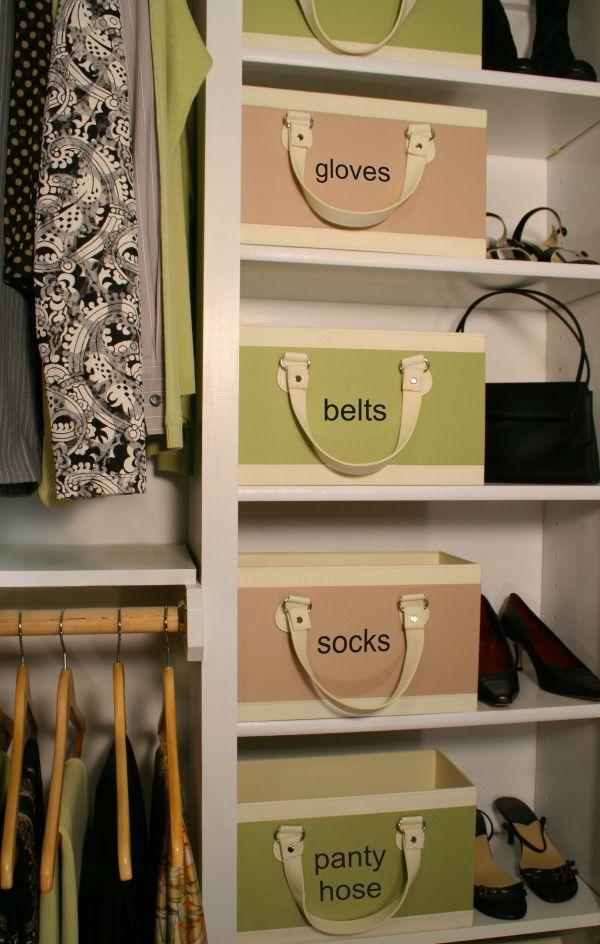 Spring Closet Organization Ideas Easy Labeling Ideas To