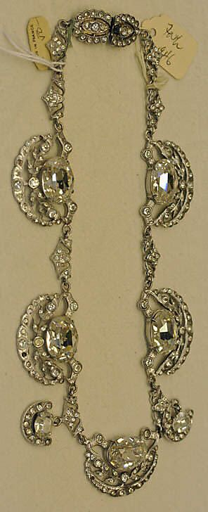 Necklace, House of Jacques Fath