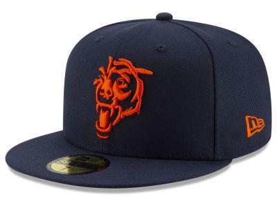 cdf0e9dd38d Chicago Bears New Era NFL Logo Elements Collection 59FIFTY Cap ...
