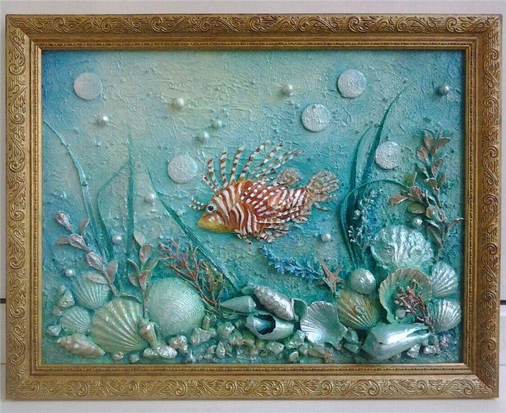 Картинки море своими руками