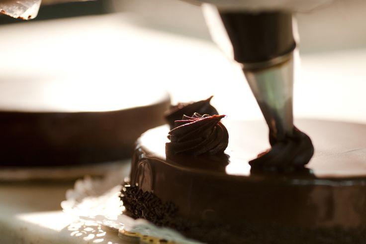 chocolate gateau ganache Afoi Asimakopouloi patisserie / bakery Athens , Exarcheia http://asimakopouloi.com/