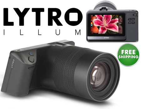 """Lytro Illum 40 Megaray Light Field Camera with Constant F/2.0, 8X Optical Zoom, and 4"""" Touchscreen LCD #plugsterpintowin"""