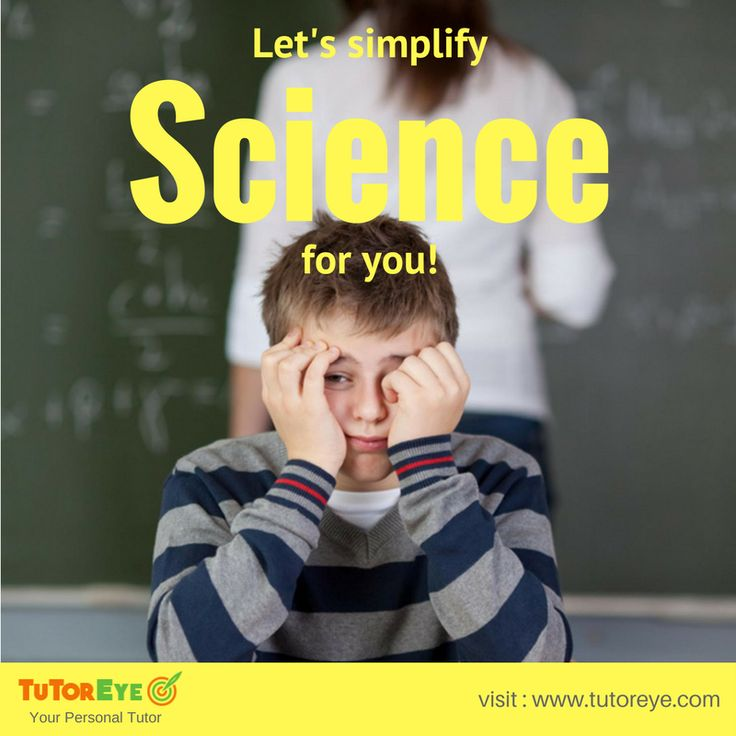 Science is tough, we all know that but do we know the best way to make it easy? #TutorEye - the leading portal where you can find expert Science tutors with mastery in all topics of Physics, Chemistry and Biology. You can also avail #HomeworkHelp for all your Science assignments with a simple registration at www.tutoreye.com