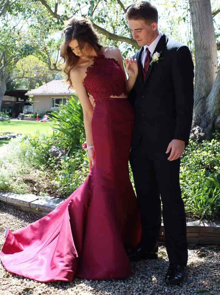 1d54aaa4b22 Two Pieces Prom Dresses