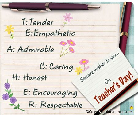 23 best teachers day images on pinterest teachers day happy dgreetings wish happy teachers day to your favourite teacher m4hsunfo