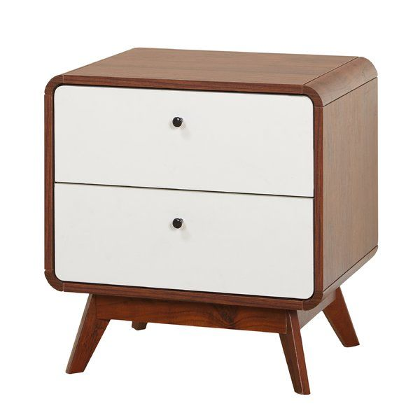 You'll love the Cody 2 Drawer Nightstand at AllModern - With Great Deals on modern Bedding products and Free Shipping on most stuff, even the big stuff.