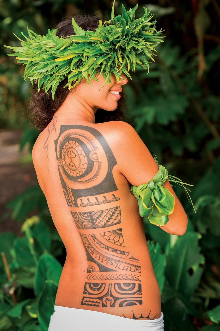 тут необходимо гавайские тату фото следуя традициям