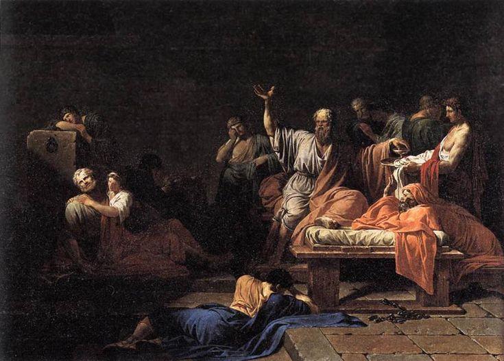 Jean-Francois-Pierre Peyron (Jean-François-Pierre Peyron), The Death of Socrates