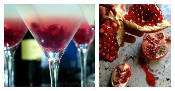 Martini de granada | Otro stylo para cocinar - Yahoo Mujer