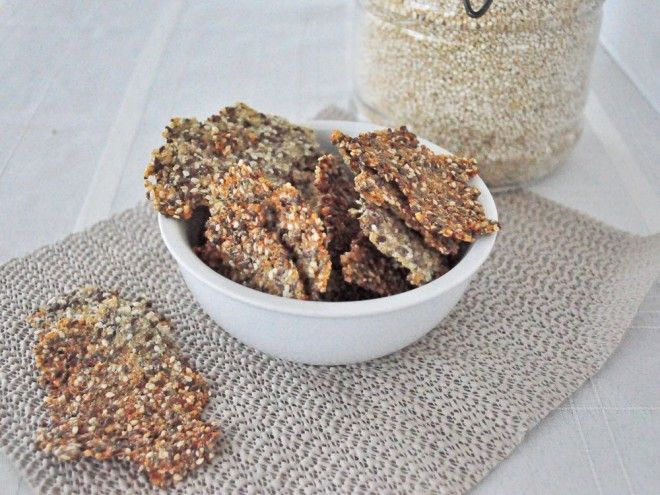 Copycat Mary's Gone Crackers - Cooking Quinoa
