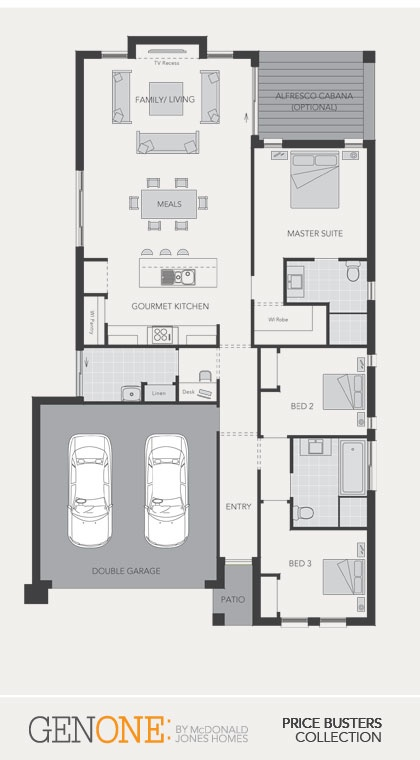 McDonald Jones Homes - Madison Collection - Floorplan #Floorplans #luxuryhome