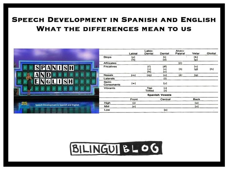 Information Technology differences between english and spanish schools