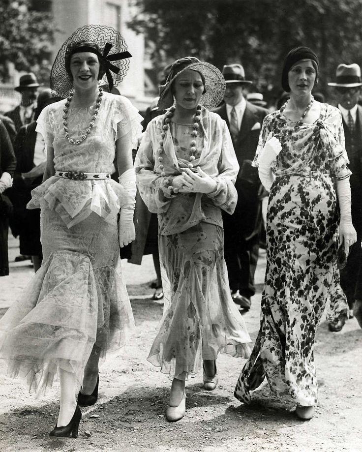Flowy, Bias Cut, and Feminine! Paris Fashions c.1930