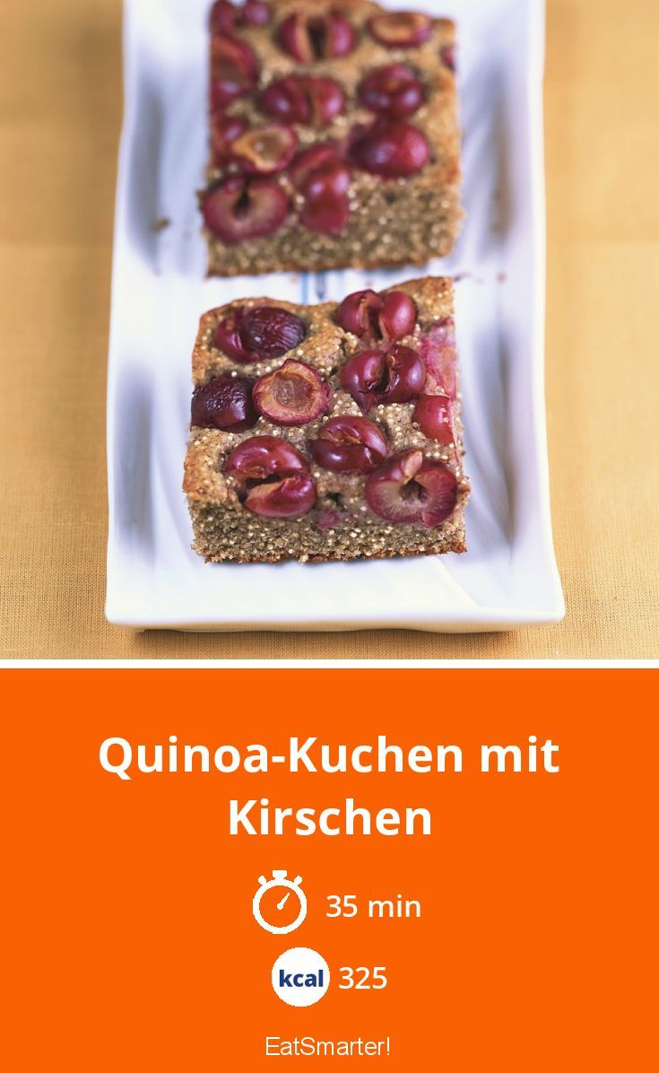 Quinoa Kuchen Mit Kirschen Rezept In 2020 Kuchen Mit Kirschen Kirschen Und Getranke Rezepte