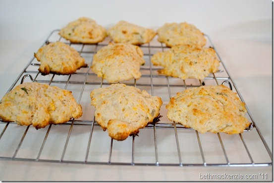 Cheddar Sage Biscuits! www.kitchenminions.com
