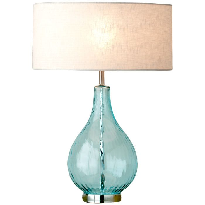 Lucy Table Lamp In Aqua Gtgt What A Pretty Color