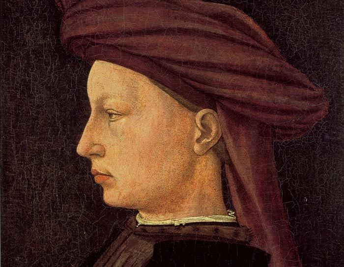 Masaccio, Portrait of a Young Man (1425) - wood, National Gallery of Art, Washington, D.C. http://www.travelingintuscany.com/art/masaccio.htm