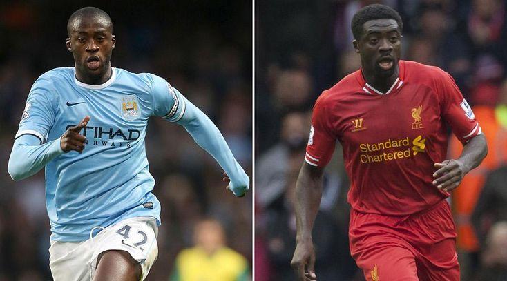 Vidéo : Les retrouvailles entre Yaya et Kolo Touré lors de City-Liverpool - http://www.actusports.fr/116327/video-les-retrouvailles-yaya-kolo-toure-lors-city-liverpool/