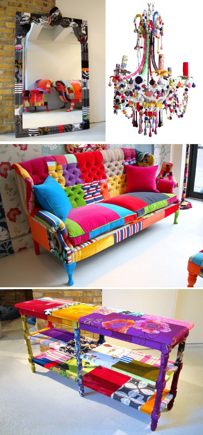 Colorful chairs for living room - Squint