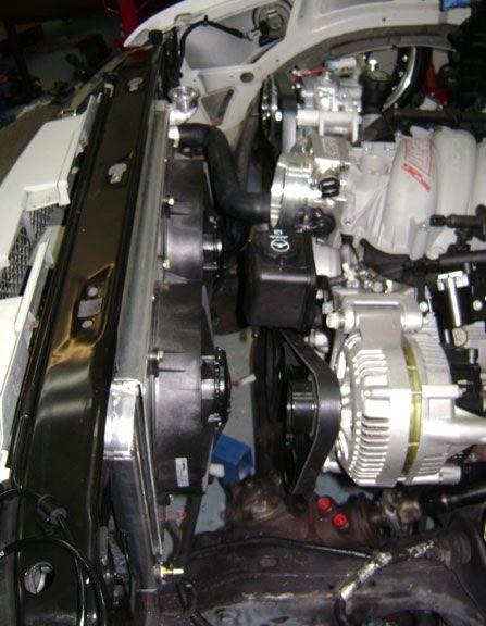 lsx engine swap radiator for s