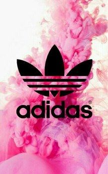 adidas, fond, rose, tapisserie